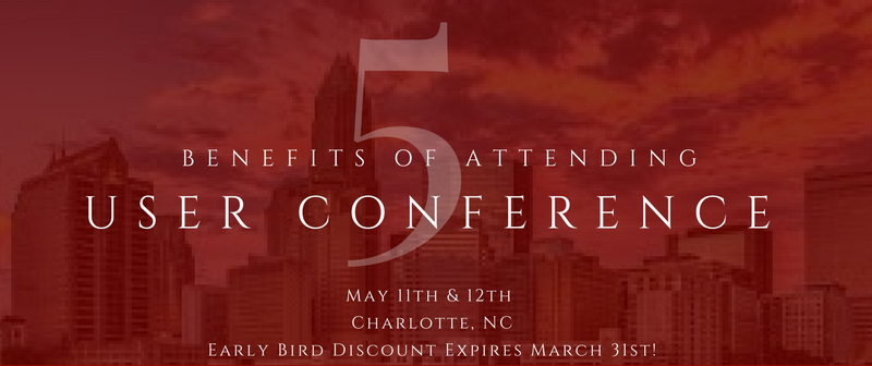 Top 5 Reasons to Attend User Conference Banner